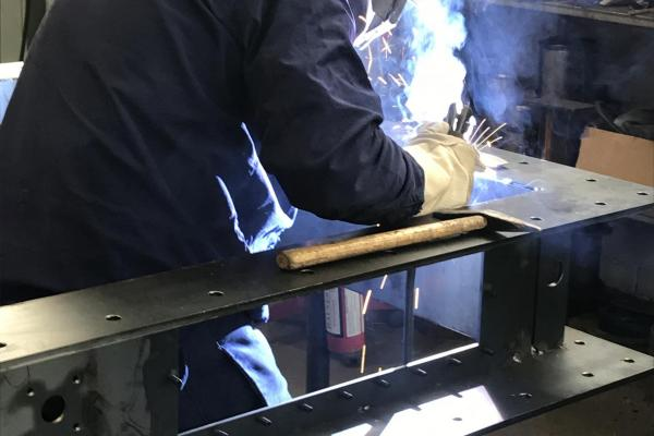 Welding of a valve body